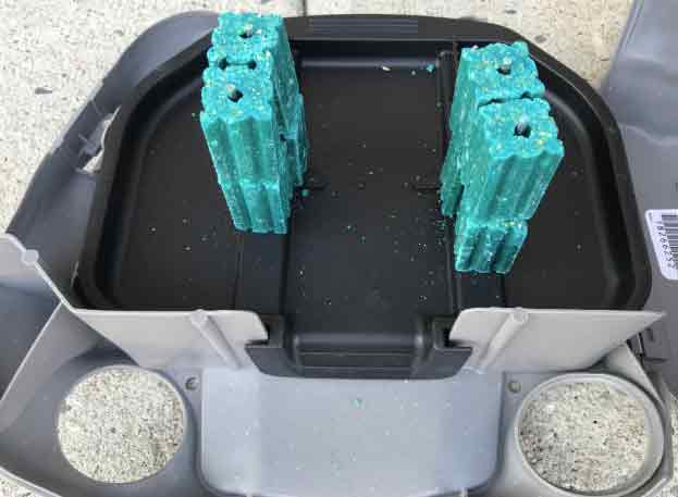PROTECTA EVO Landscape Bait Station Inside View